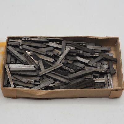 Letterpress Type Printers Lead Metal Cheltenham 10 Pt Vintage