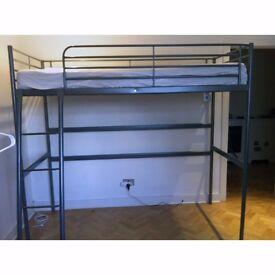 IKEA Svarta Silver Loft & Bunk Bed Frame
