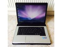 Toshiba Laptop & Charger (Free Delivery)