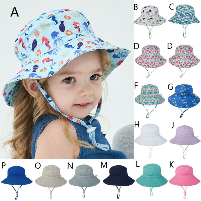 Toddler Kid Baby Boy&Girls Summer Sun Hat Protection Sunscre