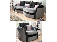 EXPRESS FREE DELIVERY OLIVIA SNUGGLE SOFA(EXTRA CHAIR)