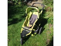 Phil and Teds Double Buggy - Apple Green