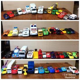 Huge bundle of toy cars