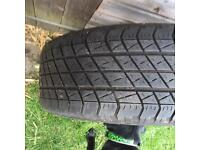 19inch alloy with tyre