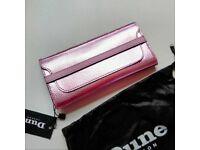 Purse - DUNE metellic pink wallet