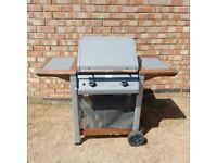 Newbury 2 Burner Hooded Gas BBQ + Gas Bottle