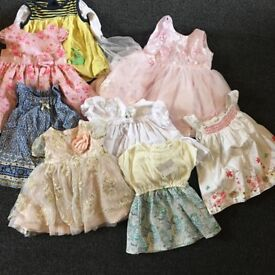 Baby girl clothes bundle 0-3 months / 0-6 months