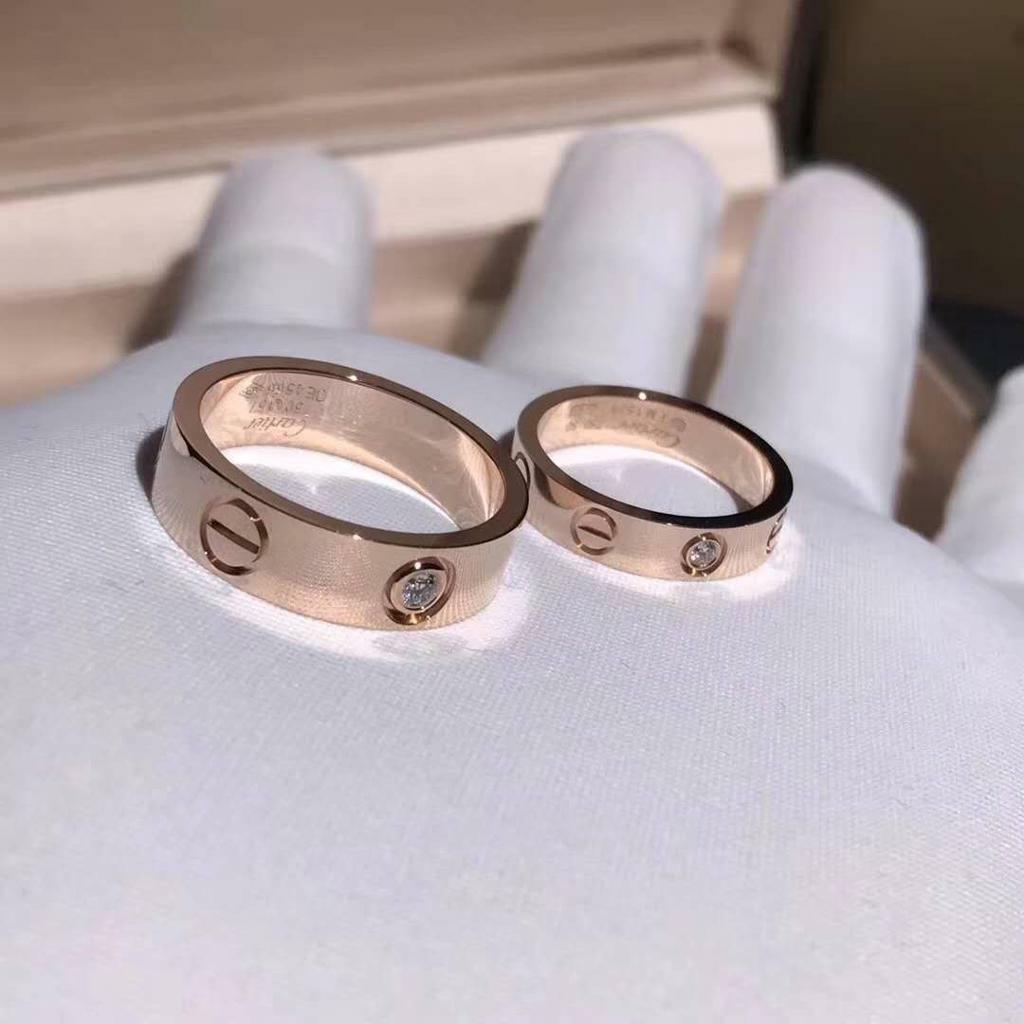 Cartier love ring (rose gold with diamonds)   in Halifax ...