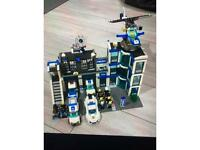 Lego City Police Station & Accessories
