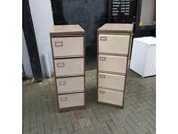 4 drawer filing cabinet £30 a piece