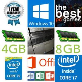 Dell intel core i5 gaming pc desktop brand new 4gb 500gb 1 year warranty shop pick up