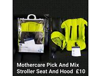Mothercare Pick And Mix Stroller Seat And Hood
