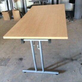 Beech Fold Away Table