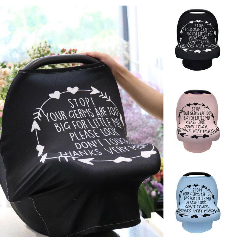 Multi-Use Infant Nursing Cover Kid Baby Cart Car Seat Canopy Breastfeeding Scarf