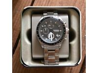 DECKER CHRONOGRAPH STAINLESS STEEL WATCH