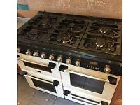 100cm canon hotpoint range cooker