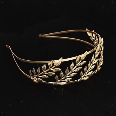 Goddess Headband Gold Leaf Branch Hair Band Crown Bridal Wedding Headpiece](Goddess Headband)