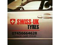 Part worn and New Tyres