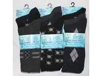 360 Assorted Pairs Mens Cotton Everyday Dress Formal Socks Wholesale Clearance Job Lot Stock New
