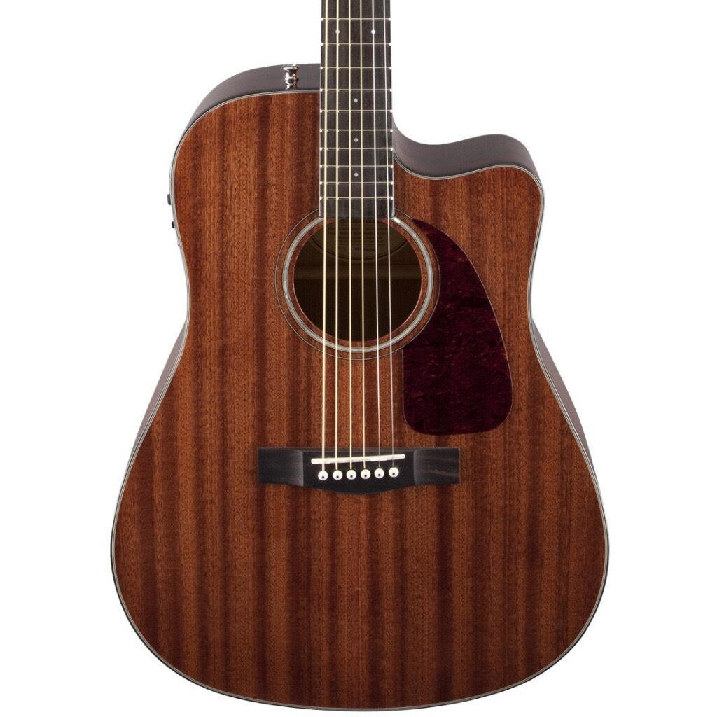 Fender CD 140 Electro Acoustic - Mahogany - 6 months old & Stagg Acoustic Amplifier
