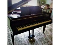 Baby Grand Piano (C. 1930s) 'B. Squire' Ideal as First Piano / Vintage Decor