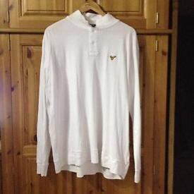 Large voi jeans long sleeve polo