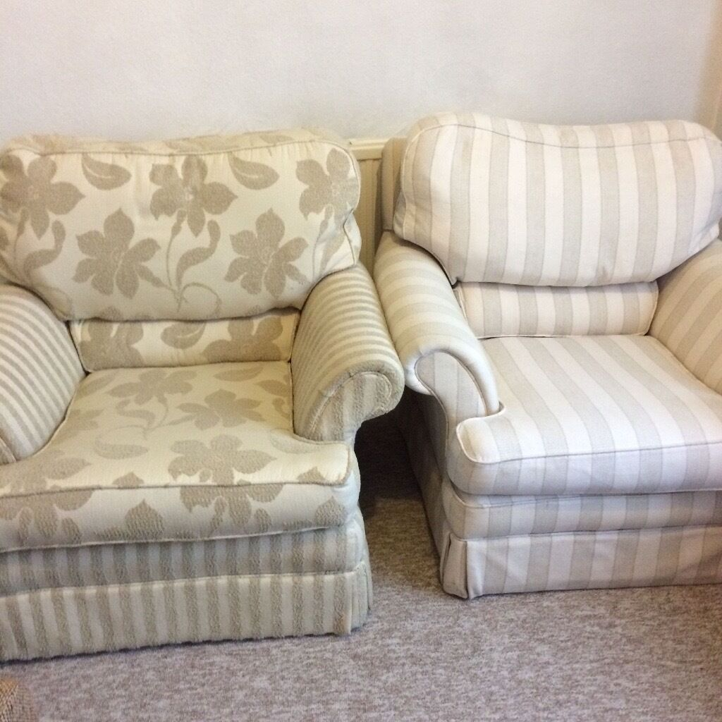 Armchairs for FREE good conditionin Haringey, LondonGumtree - Armchairs x 2 in good used clean condition. no stains or rips. Quite large and very comfy They are on wheels but the wheels do show signs of wear. If you want them, to be collected from N15. Can take one chair or both. Giving away for free as need...