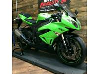 Kawasaki zx6r ***only 1400 miles***