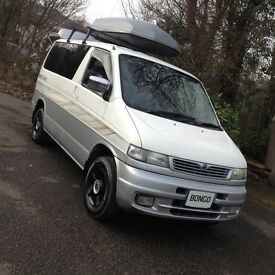 HI SPEC MAZDA BONGO DAY MPV VAN/ CAMPER SURF BUS/LOW LEVEL COOLAN/BRAND NEW MOT&CAMBELT KIT