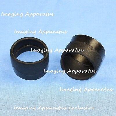 New Microscope Eyepiece Rubber Eyeguards Eye Guards Eye Shield 33-35 Mm Top