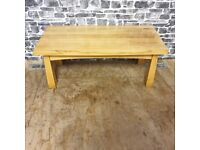 Solid Oak Coffee Table in Excellent Condition