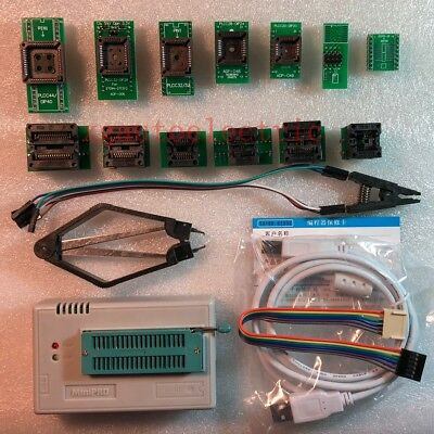 Xgecu Tl866ii Programmer Plus For Spi Flash Nand Eprom Mcu Avr13 Adapterclip