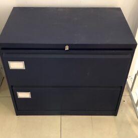 Lockable Steel Filling Cabinet