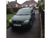 VAUXHALL ASTRA ESTATE 1389CC, PETROL, 2000, TOW HITCH, GOOD CONDITION, RUNNING WELL