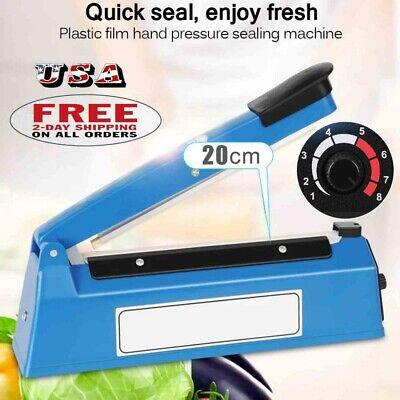 Portable Heat Sealing Machine FoodBag Package Sealer Capper Sealing Tool EU PLUG