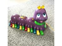 Leap frog alphabet learning interactive toy / pull a long
