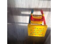 Toddlers table and chair good condition plastic.