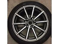 """Audi 19"""" rs q3 alloy genuine"""