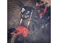 PROJECT/TRACKBIKE HONDA CBR 600cc F SPORT 2001 STREETFIGHTER