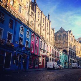 Last minute festival let, sleeps 3 for £170/night in Edinburgh's Grassmarket, August 13th-21st