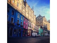 Last minute festival let, sleeps 3 for £170/night in Edinburgh's Grassmarket, August 13th-21st
