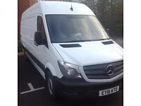 Man and brand new van hire