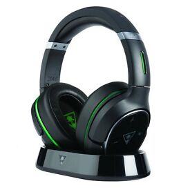 Turtle Beach Elite 800 Wireless Gaming Headset with DTS Headphone:X 7.1 Surround Sound XBOX ONE