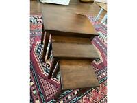 Nest of tables for £15