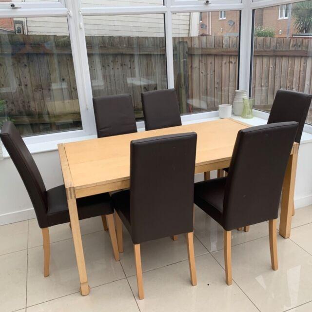 IKEA ekensberg solid oak table in OL9