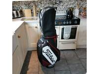 Titleist 9 inch tour cart bag