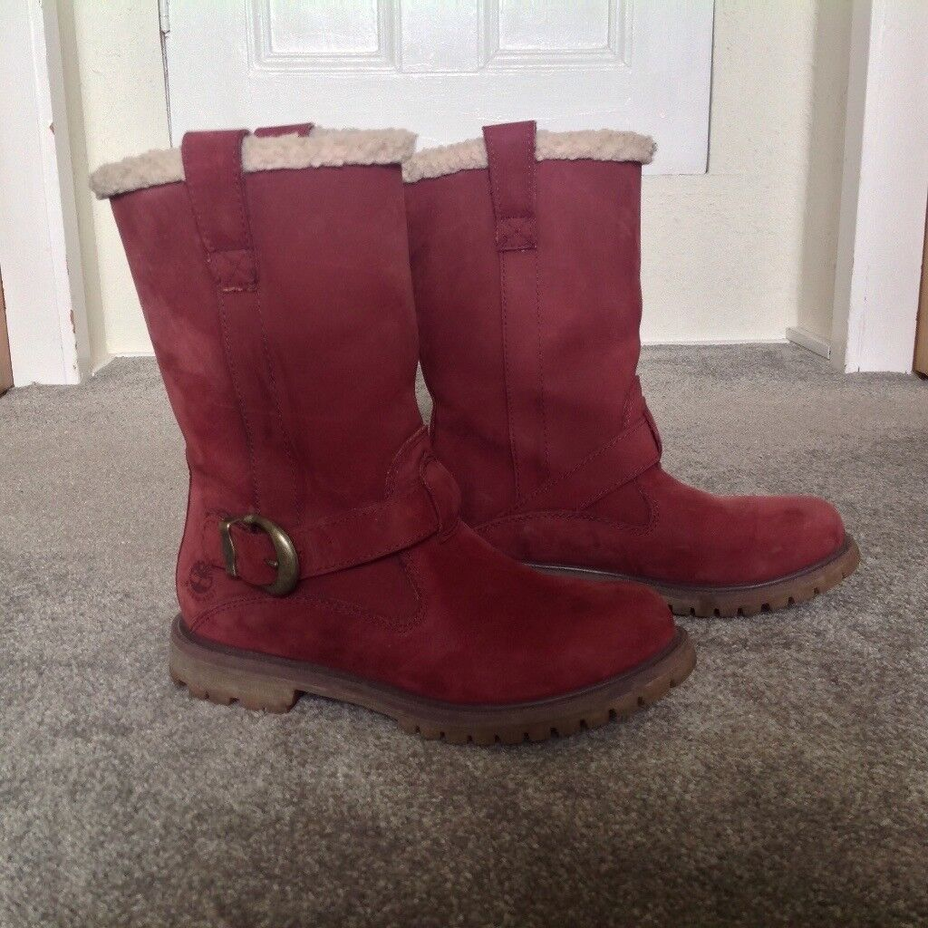 Timberland Nellie pull on boots size 5