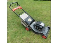 Sovereign LS45 self-propelled rotary mower (petrol engine by Briggs & Stratton)
