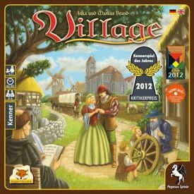 The Village base game and Port expansion (brand new)