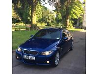 Bmw E90 325i Msport Le Manns Blue with nappa leather interior!